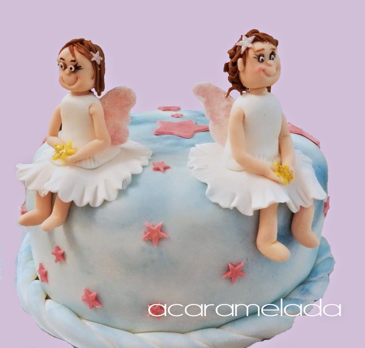 tarta hadas, tarta niñas