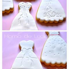vestido novia galleta
