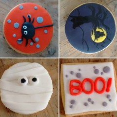 galleta pintada, galleta buho, galleta araña, galleta momia, galleta boo, galleta decorada