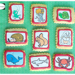 talleres infantiles, galletas niños, galletas decoraradas, papel de azucar,  glasa