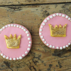 galletas princesas, galletas fondant