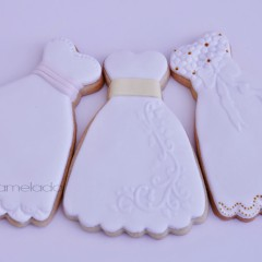 galleta decorada, galleta como vestido, galleta unica, galleta regalo invitados, regalo novios