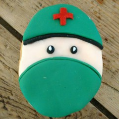 galleta medico, galleta operación, galleta decorada, galleta fondant